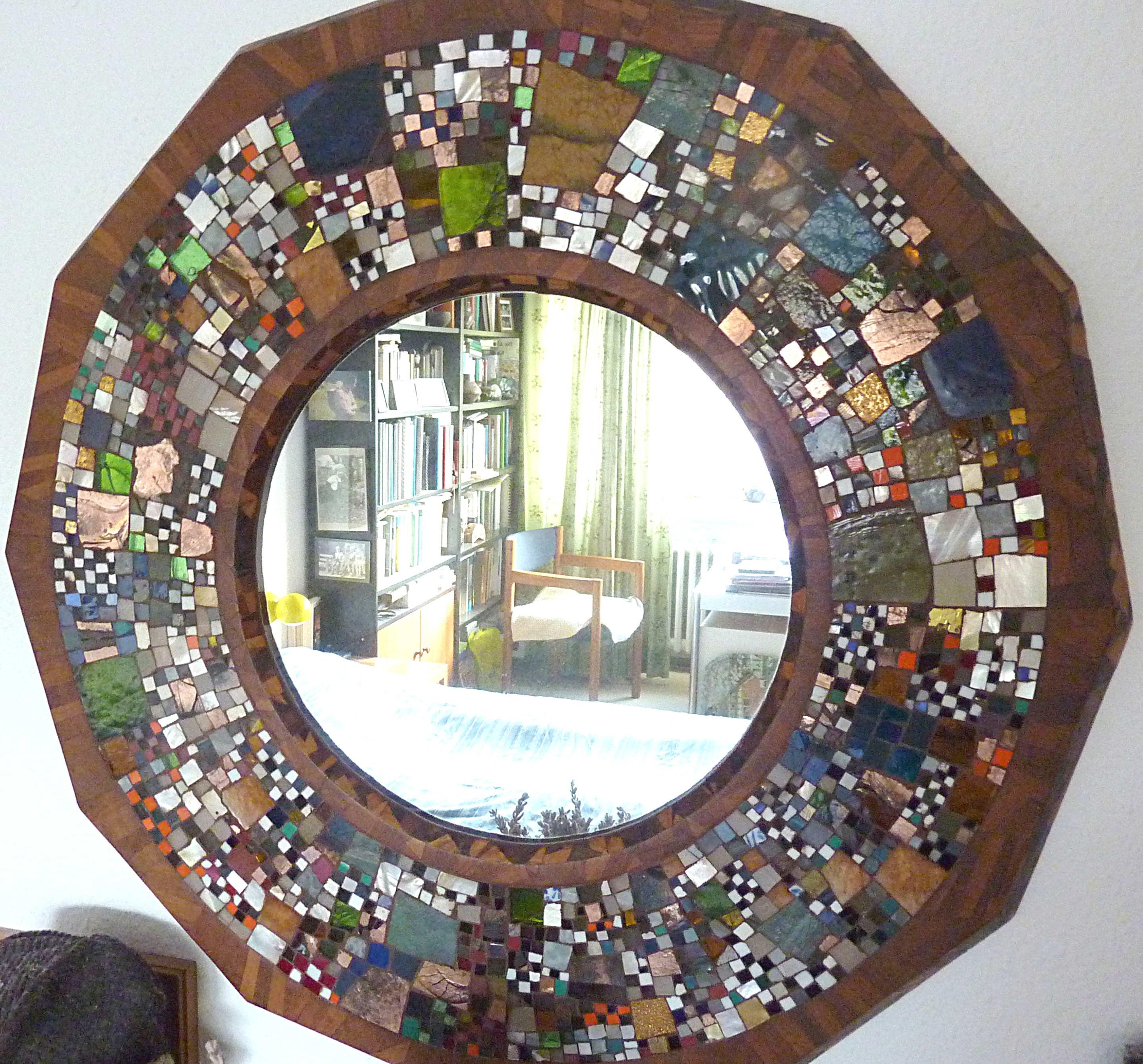 Ein Spiegel in Münster. Josef Dieck